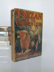 Edgar Rice Burroughs 1929 Tarzan And The Golden Lion Signed Photoplay Edition
