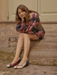 Floral Jacquard Mini Dress- With Tags- Rrp8650 Aud