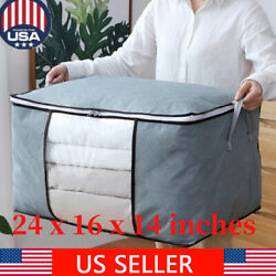 Foldable Home Closet Storage Bag Organizer Box Anti bacterial Clothes Quilt US