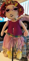 Fancy Nancy Cloth Doll 29 By Madame Alexander, 2007 Rare New With Tag