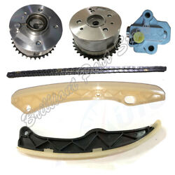 Timing Chain Kit Gear Fit For Accent Veloster Rio Soul Forte G4fd 1.6l Gdi 11-17
