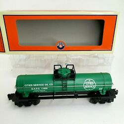 Lionel 6-36146, Shpx Cities Sevice Single Dome Tank Car, 2008 O-scale