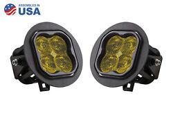 Stage Series 3 Type Ft Ss3 Fog Light Kit 2700 Lumens Ylw Sae Diode Dynamics