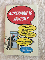 Superman Is Jewish? By Harry Bro's Hardcover Like New Condition