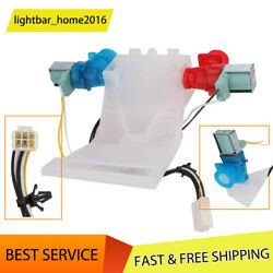 New Washer Water Inlet Valve White Part For Whirlpool Kenmore Washer W10144820