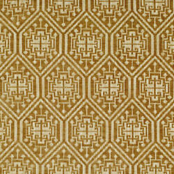 Clarence House Jasper Ethnic Chic Woven Upholstery Fabric 5 Yards Camel