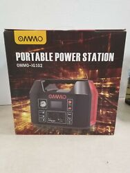 Ommo Portable Power Station 555wh Outdoor Solar Generator 150000mah Ommo-ig102