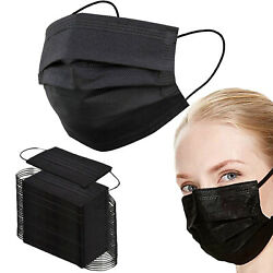 50/100/500 3 Layer Ear Loop Disposable Face Mask Mouth Cover And Nose Protection