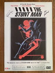 The Stunt Man 1980 Signed By Director Richard Rush And Co-star Steve Railsback