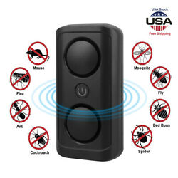 2021 Ultrasonic Pest Repeller Control Electronic Repellent Bug Mice Rat Reject