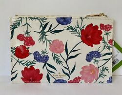 NWT Kate Spade Blossom Pencil Pouch Cosmetic Case Makeup Bag Clutch $21.95