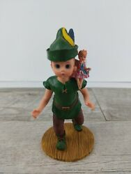 Madame Alexander Peter Pan With Tinker Bell Figurine 7 2000 Missing Sword Rare