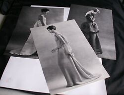3 Magazine Clippings Fashion Photos By Frank Horvay Size 12.5 X 8 From 1961
