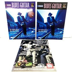 Lot 3 Electric Blues Guitar Method Playing Learn Instruction Books +cds Mel Bay