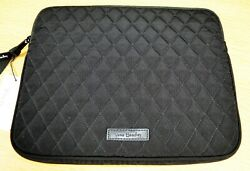 Vera Bradley Tablet Sleeve Protective Cover In Classic Black Nwt
