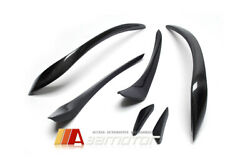 Carbon Fiber R Style Front Canards Fit For Mercedes W176 A-class Amg Sport And A45
