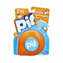 Pit Game Brown Case /built-in Bell 74 Cards And Guide Frenzied Card-swapping Fun