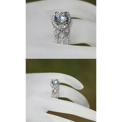 Real 1.05 Ct Round Diamond Engagement Solitaire Ring 14k White Gold Size 6 7 8 9