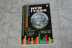 Vintage 1964 Nesters Ny In Colors Pictures Design Maps Guide