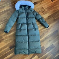 Moose Knuckles Womenandrsquos Fox Valley Down Coat L And S New W/ Tags Fast Shipping