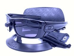 Oakley Sunglasses OO9096 01 FUEL CELL™ POLISHED BLACK WARM GRAY AUTHENTIC $59.00
