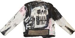 Never Ay Die Leather Jacket Lil Peep Authentic Rare 7/21 Nd Benz Truck