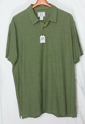 Nwt-new_cotton And Linen Jos A Bank 1905 Polo Shirt_tailored Fit_sz.2xl_green