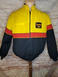 Vintage Campbell Seed Jacket/ Coat King Louie Pro Fit Usa Size Lg 44-46