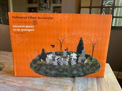 Department 56 Halloween Animated Ghosts In The Graveyard