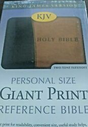 Holy Bible King James Version Personal Size Giant Print