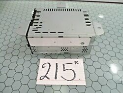 2016 Lincoln Mkz Radio Stereo Receiver Used Stock 215-r