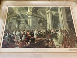 1935 Heart Of The Empire Frank Salisbury Signed/numbered Lithograph. Historical