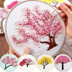 Diy Embroidery Plants And Trees For Beginner