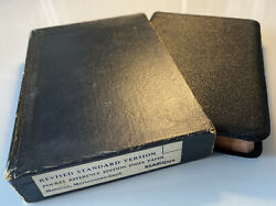 Holy Bible, Revised Standard Version, Morocco Leather, Vintage Oxford Edition