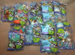 Lot Of 15 Burger King Rugrats New In Sealed Pkgs Kids Club Toys 1998