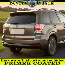 2014 2015 2016 2017 2018 Subaru Forester Factory Style Spoiler Wing Primer