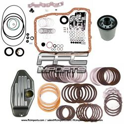 68rfe 66rfe Master Rebuild Kit 2007-up With 4wd Filter Gaskets Friction Plates