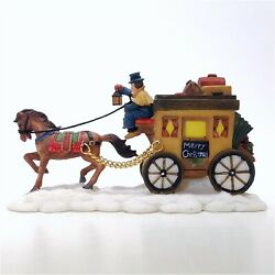 Santaand039s Workbench Collection 2001 Resin Carriage 565-3555 Table Accent Accessory