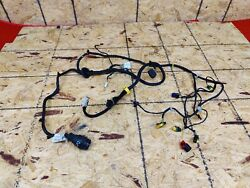 Maserati Granturismo Gt Front Right Side Door Shell Wiring Plugs Harness Oem