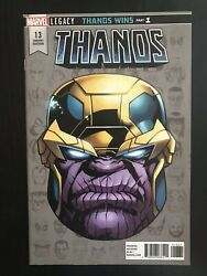 Thanos 13 Variant 2017 Marvel Comic Book First Appearance Of Cosmic Ghost Rider