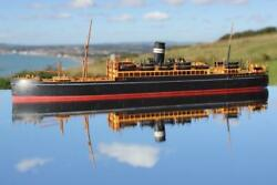 Bassett Lowke British India Ss Rohna 9 Model Ship Scale 50ft To 1inch