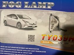 Oem Styling Led Drl And Fog Lamp Kit. Includes Wiring Harness 2016-up Prius Ty039h