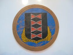 Wwii Italian Made Leather Bomber Group Patch 484th Bomb Group 15th Aaf Estate