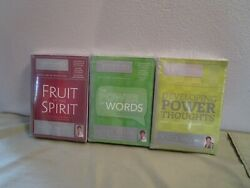 Joyce Meyer Power Of Words Developing Power Thoughts Fruit Of The Spirit Lot