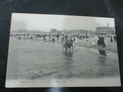 An Old Rppc Post Card Berck - Plage The Sea Shore View France1910and039s. C1
