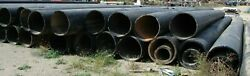 30 Ips Dr32.5 50' Sections Hdpe Black Plastic Pipe Sold Separate B198ga