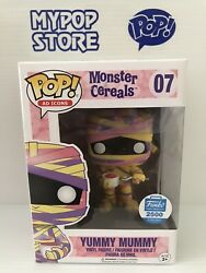 Funko Pop Ad Icons Yummy Mummy 07 Monster Cereals Shop Exclusive Vinyl Figure