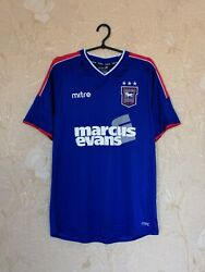 Ipswich Town Tractor Boys 2012 - 2013 Home Football Shirt Jersey Mitre Size M
