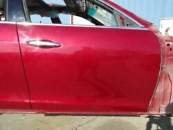 16 Maserati Ghibli M157 Front Right Passenger Side Door Shell Red