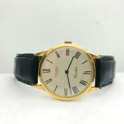 Vintage 18k Yellow Gold Watch By Universal Geneve